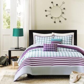 Intelligent Design Lacey 5-piece Teal Comforter Set