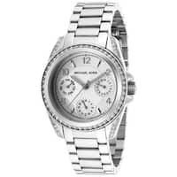 Michael Kors Women's  'Blair' Silver Stainless Steel Watch