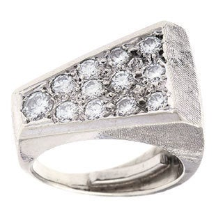 Pre-owned 14k White Gold 1ct TDW Estate Ring (G-H, VS1-VS2)