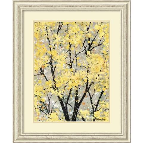Framed Art Print 'Early Spring I' by Helena Alves 29 x 35-inch