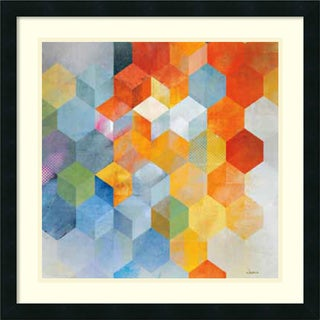 Framed Art Print 'Cubitz I' by Noah 24 x 24-inch
