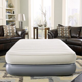 Simmons Beautyrest Velveteen 18-inch Queen-size Pillow Top Auto Comfort Controlled Express Air Bed