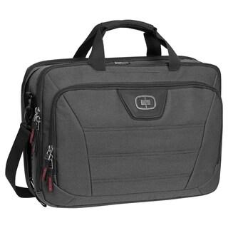 OGIO Black Pindot Renegade 17-inch Laptop Briefcase