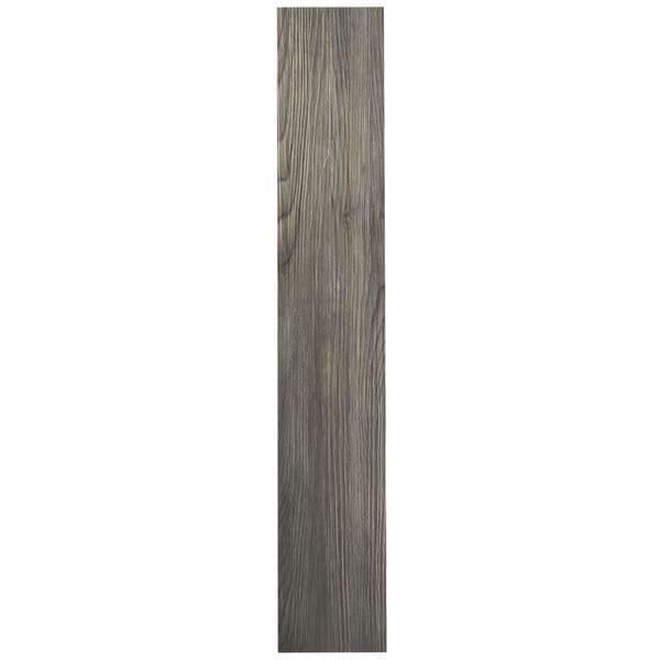 Shop Achim Tivoli Ii Silver Spruce 6x36 Self Adhesive Vinyl Floor