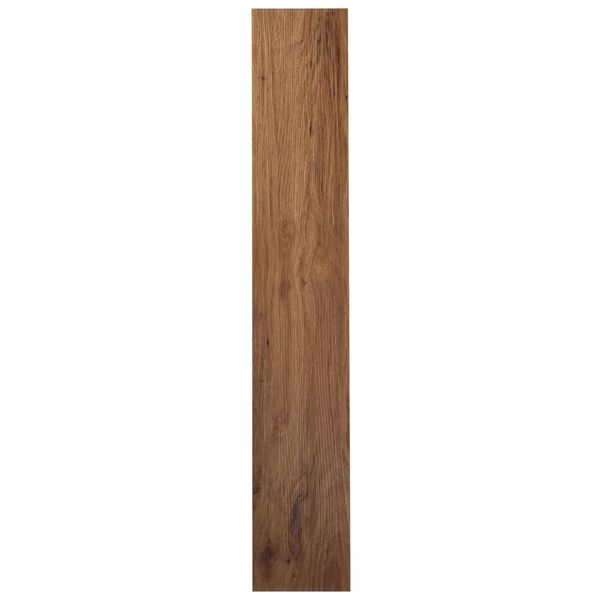 Vinyl Flooring Wood Reviews: Shop Achim Tivoli II Medium Oak 6x36 Self Adhesive Vinyl