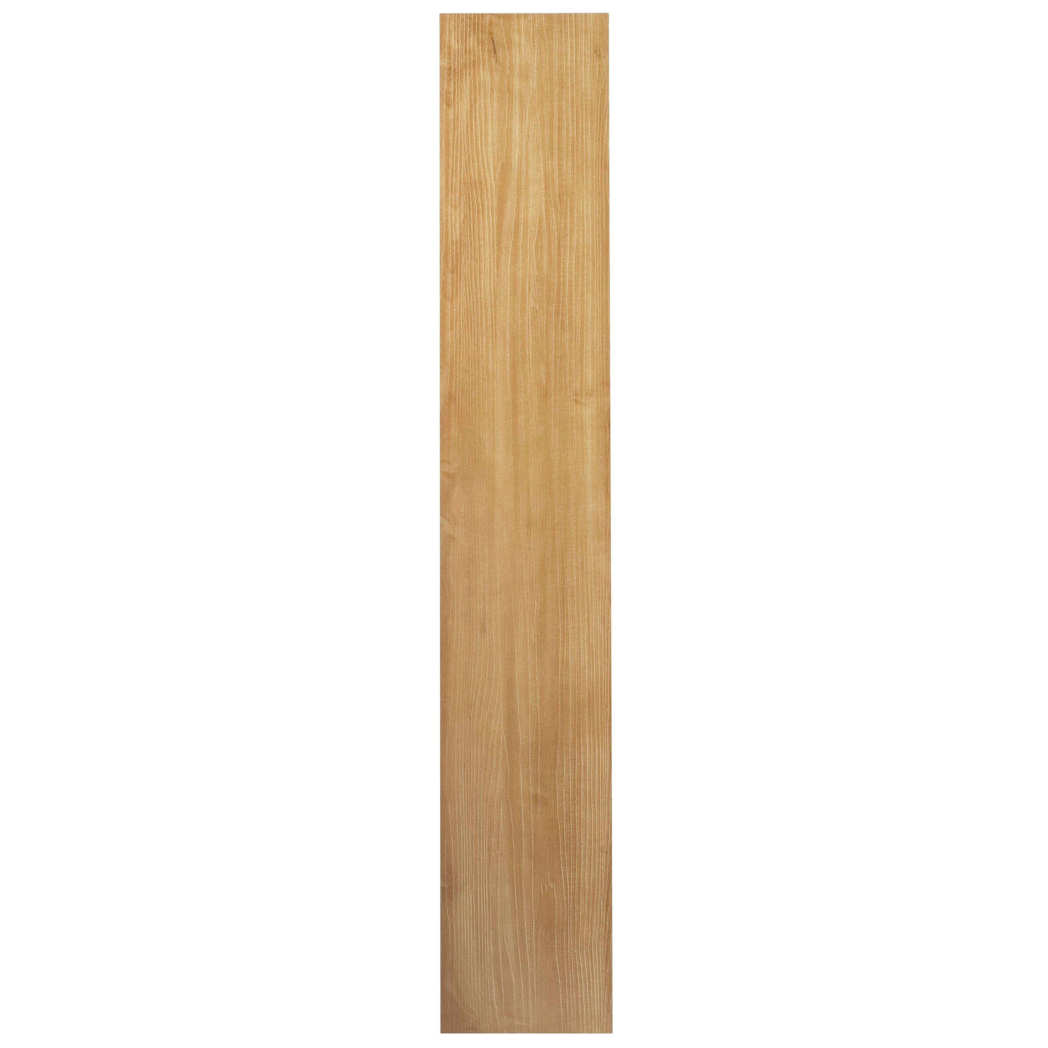 Achim Tivoli II 10-Piece Rustic Oak 6x36 Self Adhesive Vi...