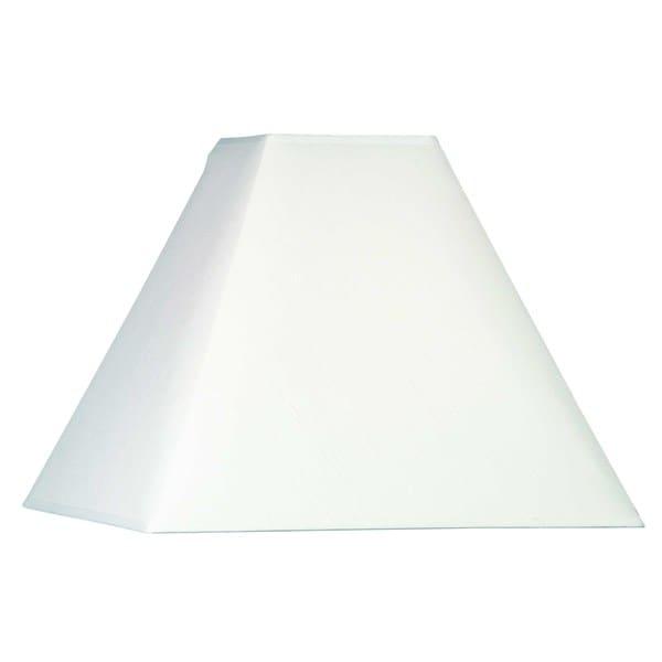 Design Match 14-inch Square Natural Cream Paper Shade