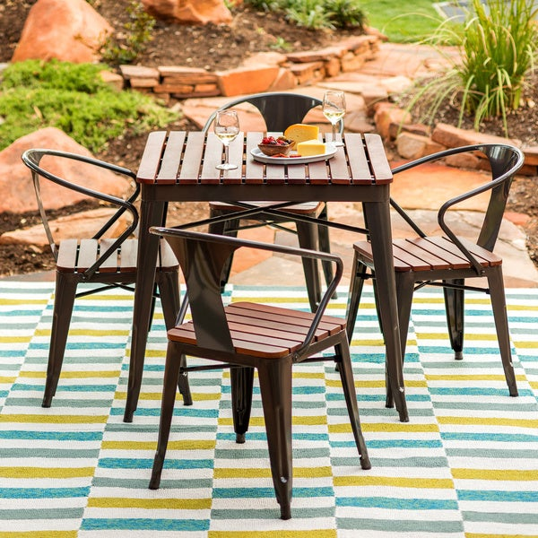 Jardin 5 Piece Outdoor Dining Set