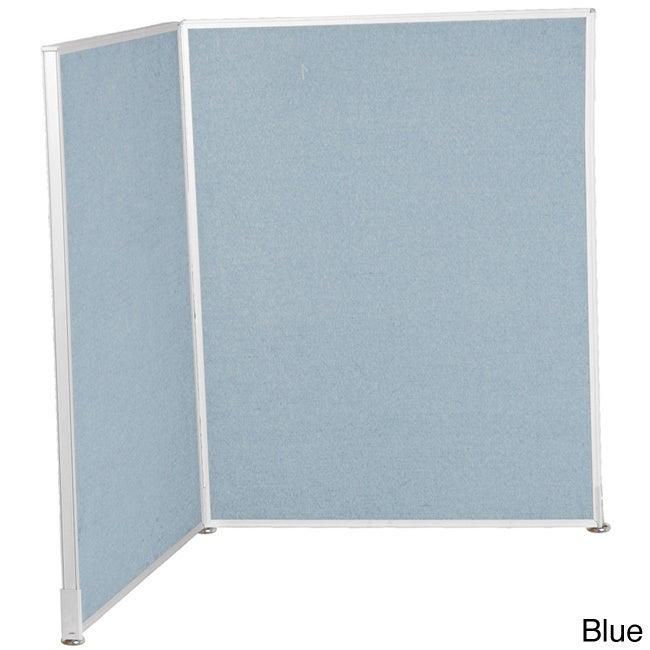 Balt 5x3-foot Office Cubicle Wall Divider Panel (Blue)