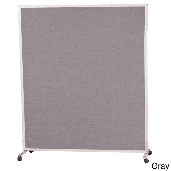 Balt 5x3-foot Office Cubicle Wall Divider Panel (Gray), Grey