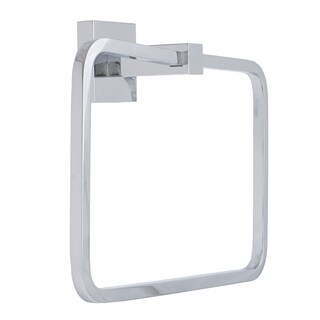 Italia Capri Chrome Towel Ring