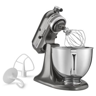KitchenAid RRK150QG Liquid Graphite 5-quart Artisan Tilt Head Stand Mixer (Refurbished)