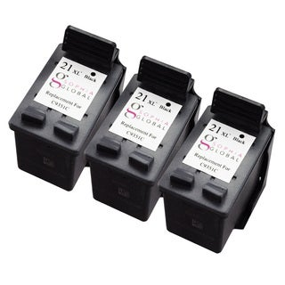 Sophia Global HP 21XL Ink Cartridge Replacement (3 Black) (Remanufactured)