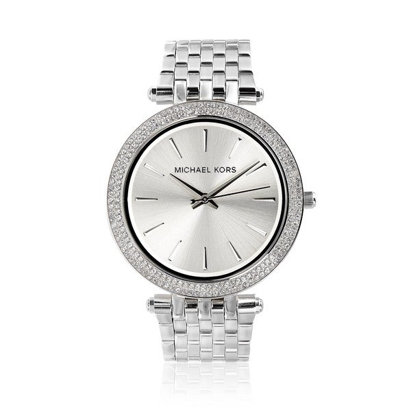 057a879ebd48 Shop Michael Kors Women s MK3190  Darci  Stainless Steel Crystal ...