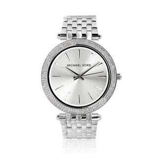 Michael Kors Women's MK3190 'Darci' Stainless Steel Crystal Watch|https://ak1.ostkcdn.com/images/products/8755020/P15998654.jpg?impolicy=medium