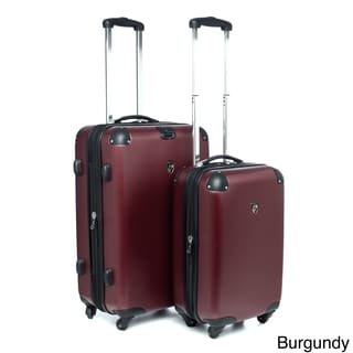 Heys USA Valet 2-piece Hardside Spinner Luggage Set