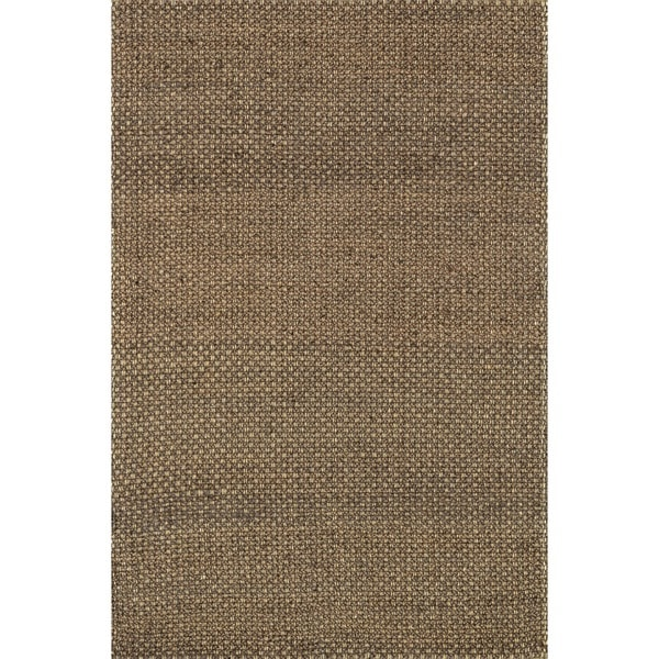 Hand-woven Natural Brown Jute Rug (5' x 7'6) - 5' x 7'6""