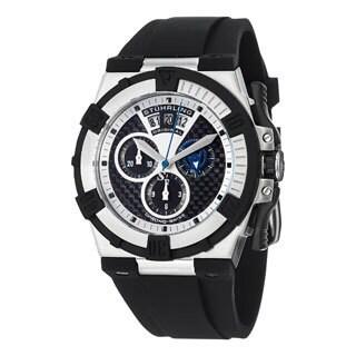 Stuhrling Original Men's Falcon Swiss Quartz Chronograph (Ronda Startech 5030.D) Watch