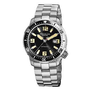 Stuhrling Original Men's Regatta Cruiser Automatic Movement Swiss Made Bracelet Watch