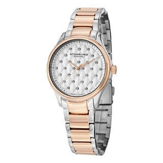 Stuhrling Original Women's Culcita Swiss Quartz Bracelet Watch