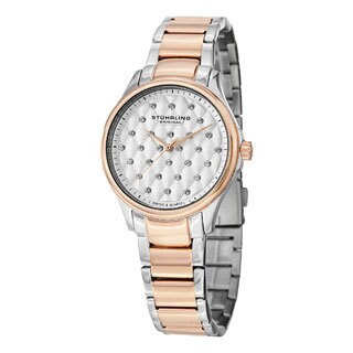 Stuhrling Original Women's Culcita Swiss Quartz Bracelet Watch