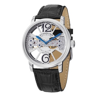 Stuhrling Original Men's Winchester County Mechanical Movement Strap Watch