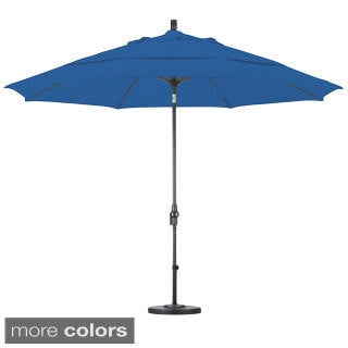 Lauren & Company Ultra Premium Sunbrella 11-foot Patio Umbrella with Stand