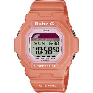 Casio Women's 'Baby-G' Orange Digital Watch