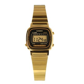 Casio Women's Classic Gold Stainless Steel Watch