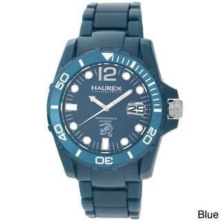 Haurex Italy Caimano Polycarbonate Unidirectional Bezel Date Watch