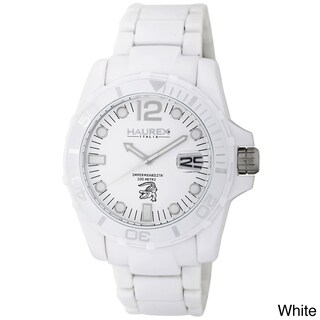 Haurex Italy Caimano Polycarbonate Unidirectional Bezel Date Watch (2 options available)