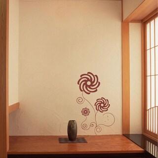 Ornament Pattern Flower Interior Wall Vinyl Decal Art Sticker