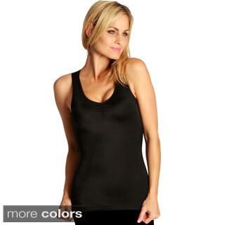 InstantFigure Women's Shirred Shapewear Tank Top