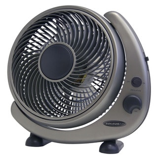 Soleus Air 'FT2-25-03' 10-inch Table/ Wall Mount Oscillating Fan