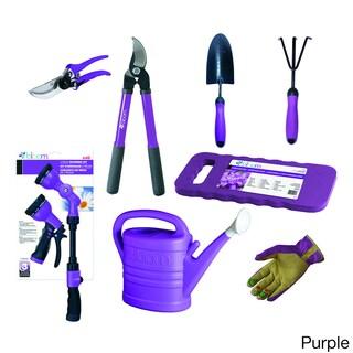 Bloom 9-piece Garden Starter Kit (Option: Purple)