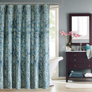 Windsor Paisley Cotton Shower Curtain|https://ak1.ostkcdn.com/images/products/8756877/P16000241.jpg?impolicy=medium