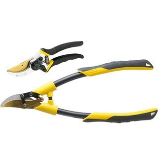 Stanley 2-piece Black/ Yellow Garden Cutting Kit
