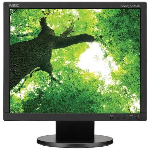 "NEC Display AccuSync AS172-BK 17"" SXGA LED LCD Monitor - 5:4 - Black"
