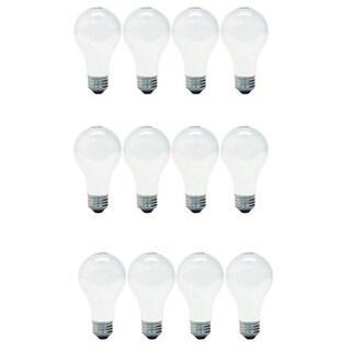 GE '13257' 4-pack 40-Watt Soft White A19-base Light Bulbs (Set of 12)
