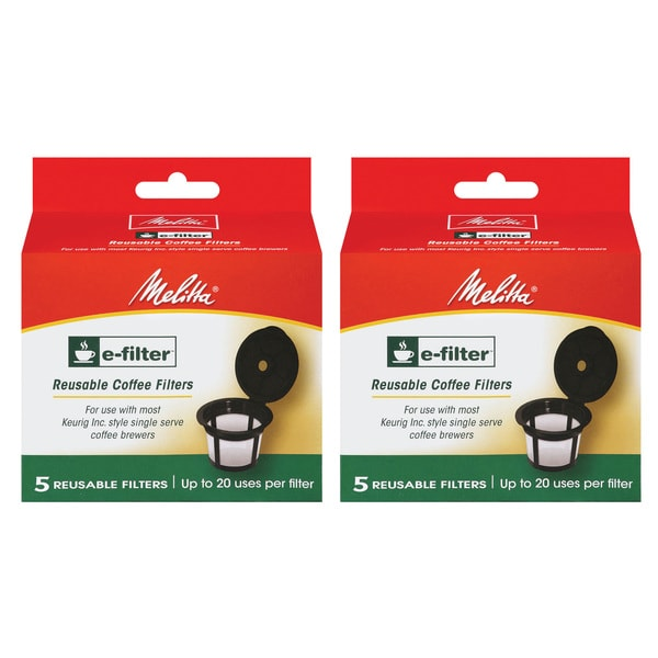 melitta efilter reusable kcups for keurig kcup brewers