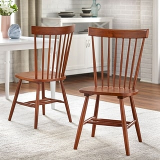Simple Living Venice Dining Chairs Set Of 2 Option White