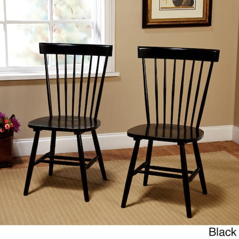 Simple Living Venice Farmhouse Dining Chairs (Set of 2)