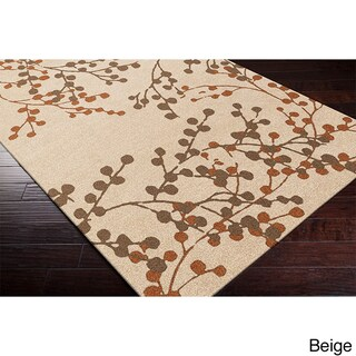 Hand-tufted Amador Contemporary Floral Wool Area Rug (5' x 7'9) - 5' x 7'9 (2 options available)