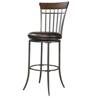 Cameron Vertical Spindle Back Stool