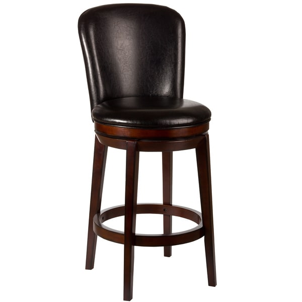 Victoria Dark Brown Cherry Finish Stool Free Shipping