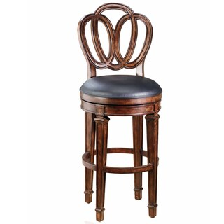 Dover Distressed Cherry Finish Stool
