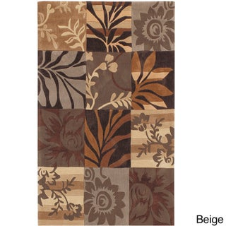 Hand-tufted Solano Transitional Floral Area Rug (5' x 7'9) (2 options available)