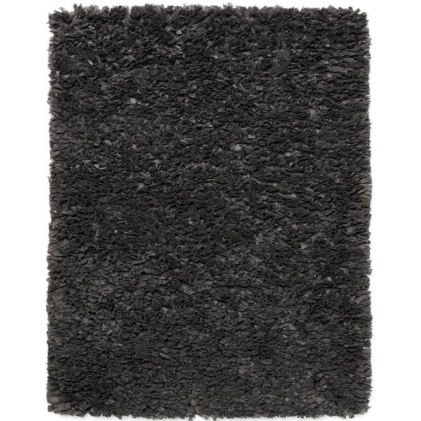 Jani Lea Grey Paper Shag Rug - 4' x 6'