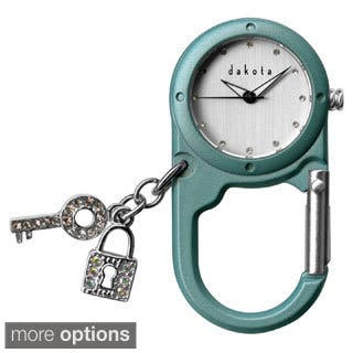 Dakota Charmed Mini Watch Clip|https://ak1.ostkcdn.com/images/products/8757749/Dakota-Charmed-Mini-Watch-Clip-P16000876.jpg?impolicy=medium