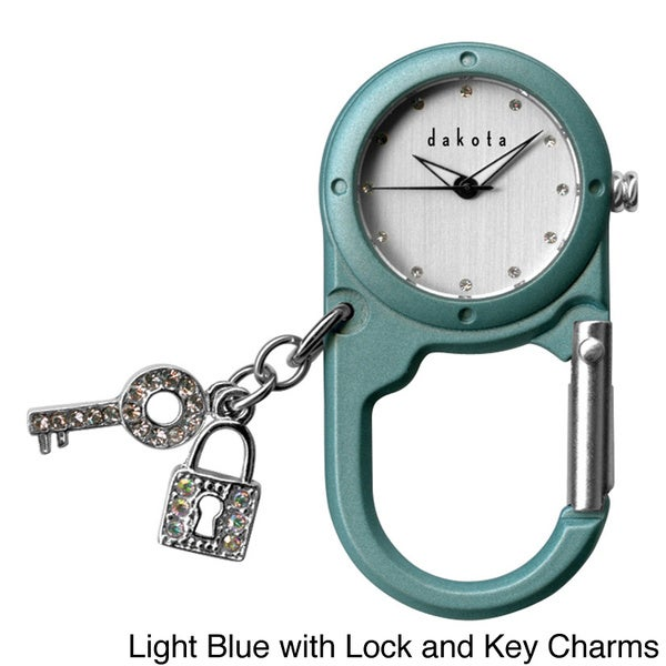 Dakota Charmed Mini Watch Clip. Opens flyout.
